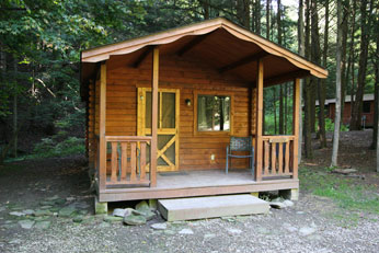 New York State Campground - NY Log Cabins
